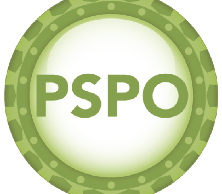 UpcomingProfessional Scrum Product Owner (PSPO) – oct 2020