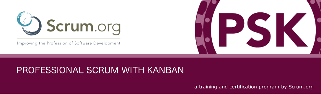 Scrum.org Professional Scrum with Kanban (PSK)